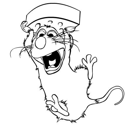 Comment dessiner ratatouille - Coloriage de ratatouille ...
