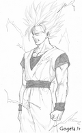 comment dessiner sangoku super sayen 10000