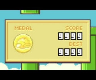 comment faire 9999 a flappy bird