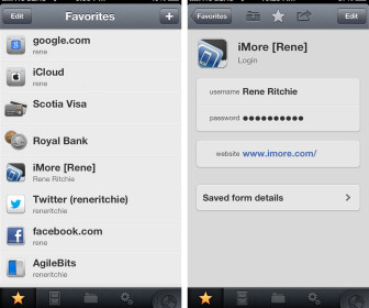 comment fonctionne 1password iphone