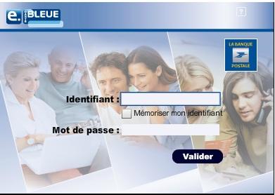 comment fonctionne e-carte bleue banque postale