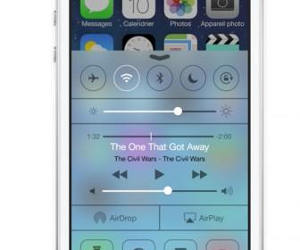 comment mettre 5 application en bas de l'iphone
