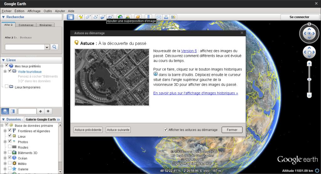 comment reparer google earth