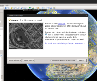 comment réparer google earth