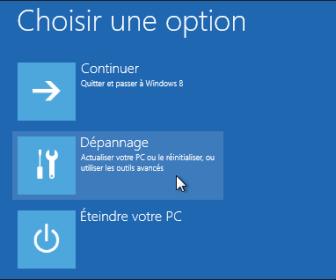 comment réparer windows 8.1 sans formater
