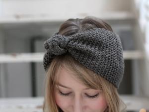 apprendre a tricoter un bandeau. Black Bedroom Furniture Sets. Home Design Ideas