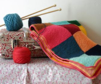 comment tricoter couverture