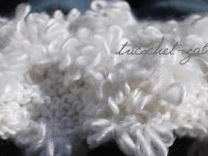 comment tricoter la laine fleurette