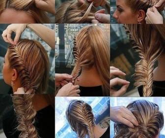 comment coiffure tresse