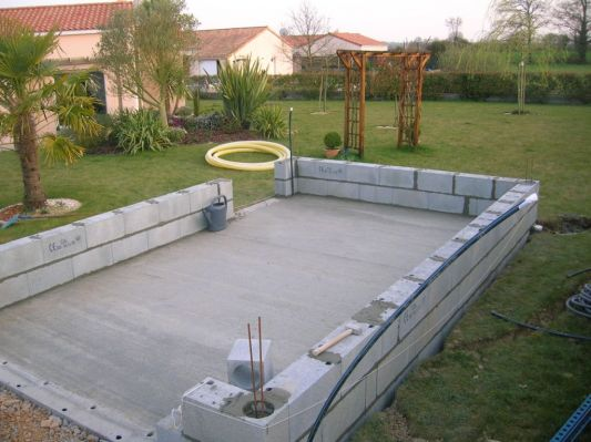 Comment construire garage parpaing for Construction garage parpaing plan