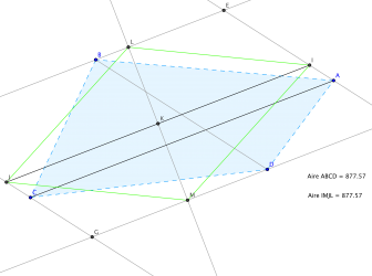 comment construire quadrilatère