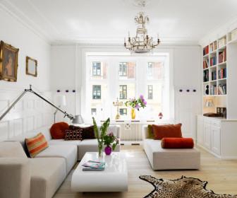 comment décorer appartement tout blanc