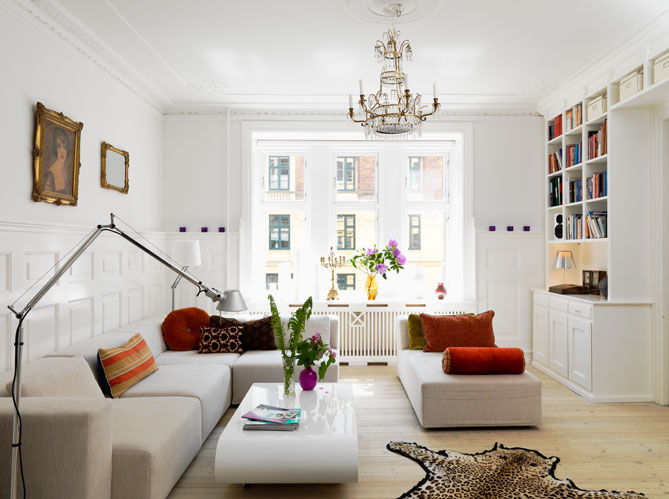 Comment d corer appartement tout blanc - Decoration petit appartement moderne ...