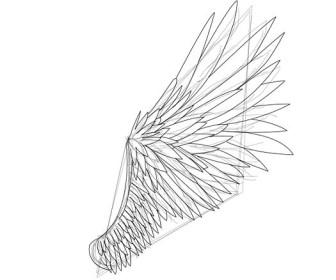 comment dessiner des ailes d'ange
