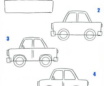 comment dessiner voiture