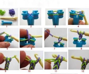 comment faire bracelet élastique