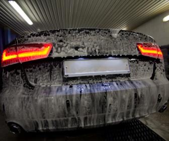 comment laver voiture