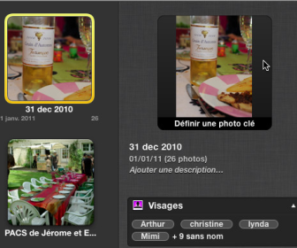 comment marche iphoto