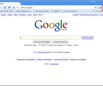 comment mettre google en page d'accueil mac