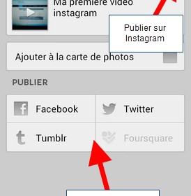 comment mettre video sur instagram