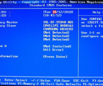 comment réparer a disk read error occured