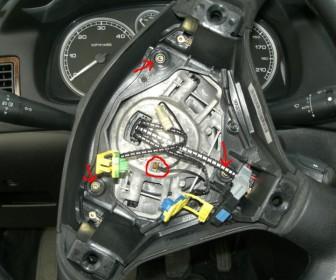 comment réparer klaxon 307