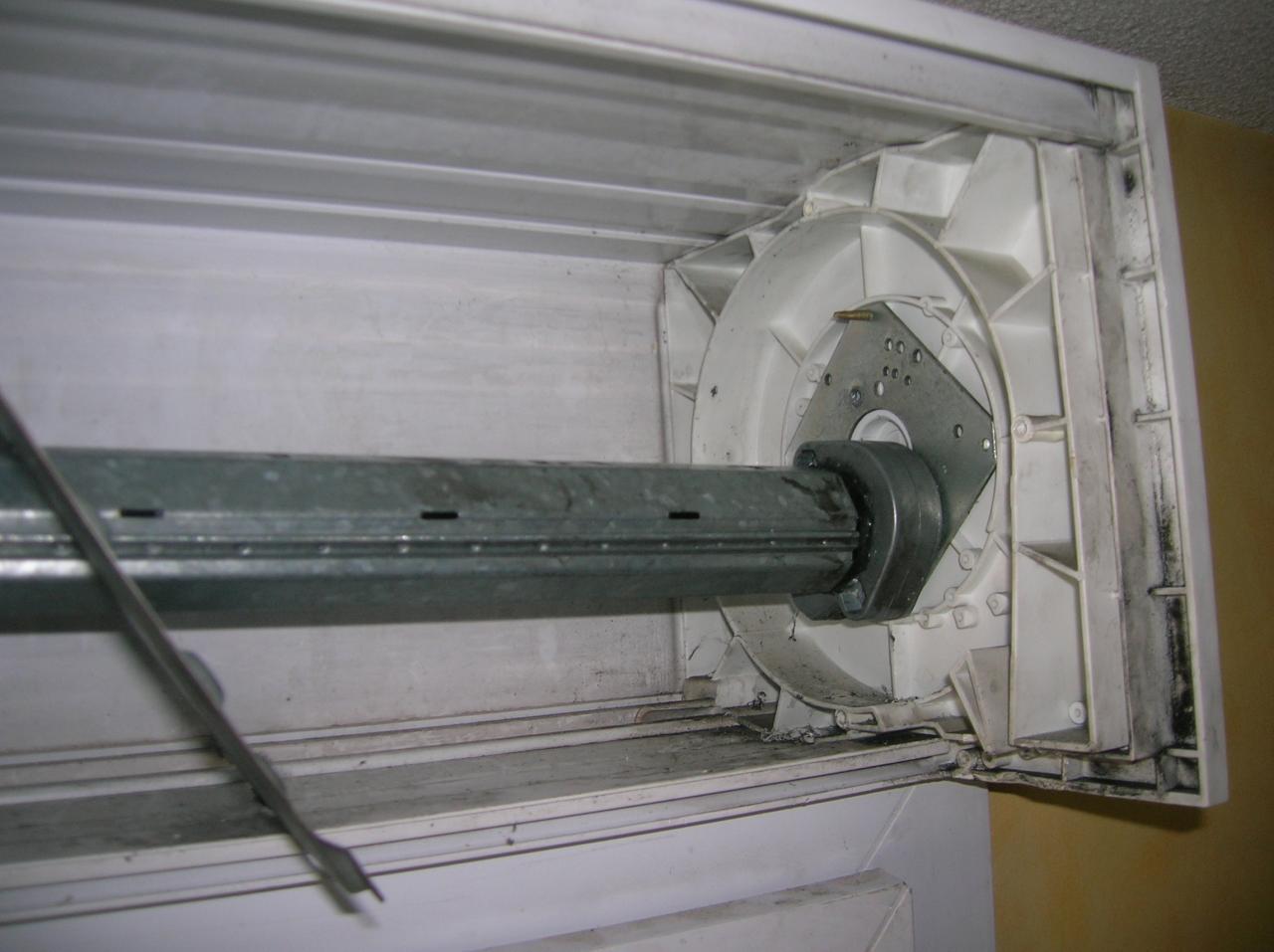 Reparer volet roulant manuel