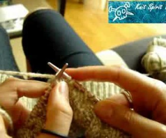 comment tricoter à la suisse