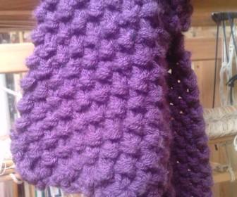 comment tricoter 2 fils ensemble