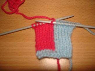 comment tricoter régulier