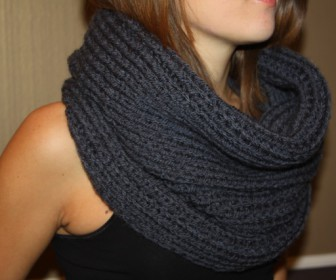 comment tricoter un snood