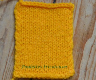 comment tricoter une écharpe qui ne roule pas