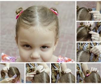comment coiffer petite fille