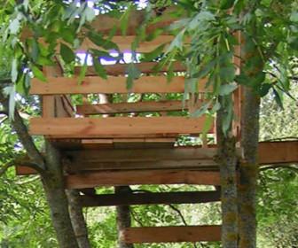 comment construire cabane arbre
