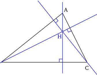 comment construire la médiatrice d'un triangle
