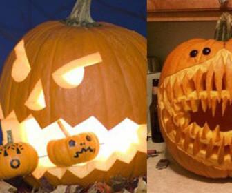 Comment d corer une citrouille - Comment decorer pour halloween ...