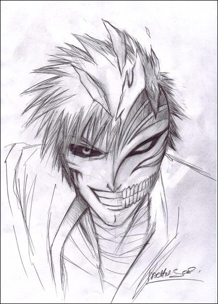 Comment dessiner ichigo - Naruto facile a dessiner ...