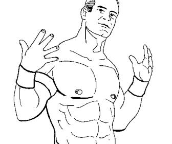 comment dessiner john cena