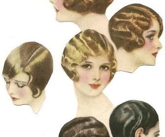 comment faire coiffure 1920