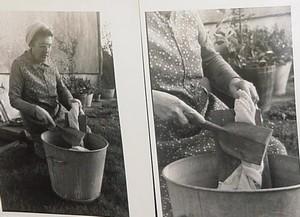 comment laver ton le linge autrefois