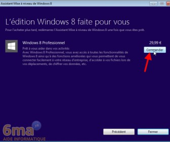 comment mettre windows 8