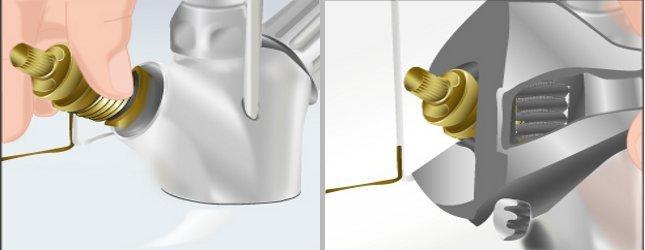 Comment r parer robinet qui coule - Comment fonctionne un robinet thermostatique ...