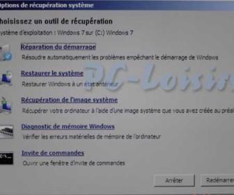 comment réparer windows 7 gratuitement
