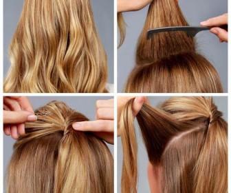 comment se coiffer a noel