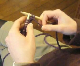 comment tricoter les cotes