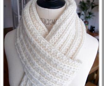 comment tricoter une ècharpe