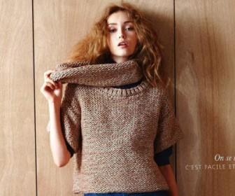 comment tricoter veste