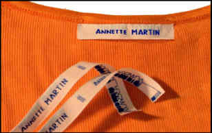 comment coudre étiquettes vêtements