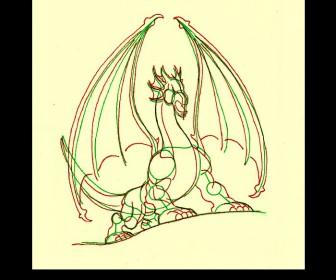comment dessiner 1 dragon