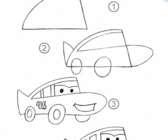 comment dessiner cars